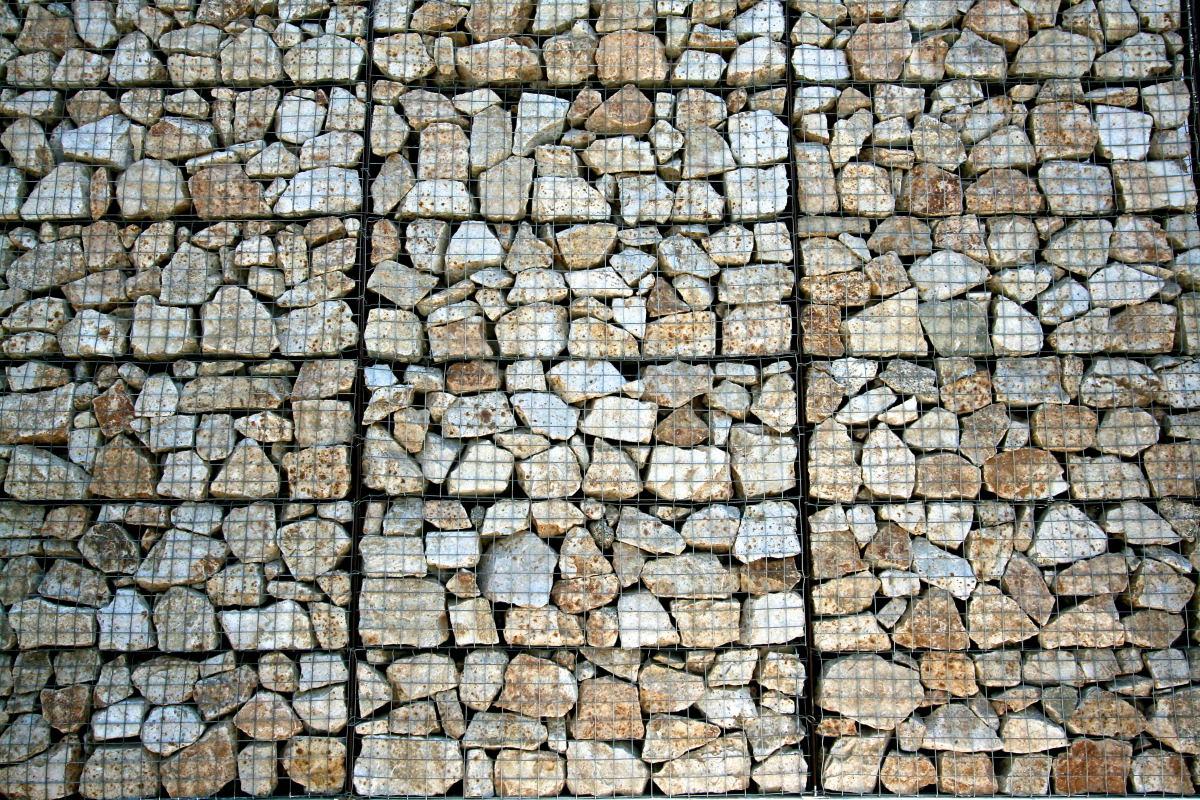 Gabion kő